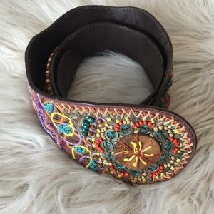 CHICOS BEADED BELT